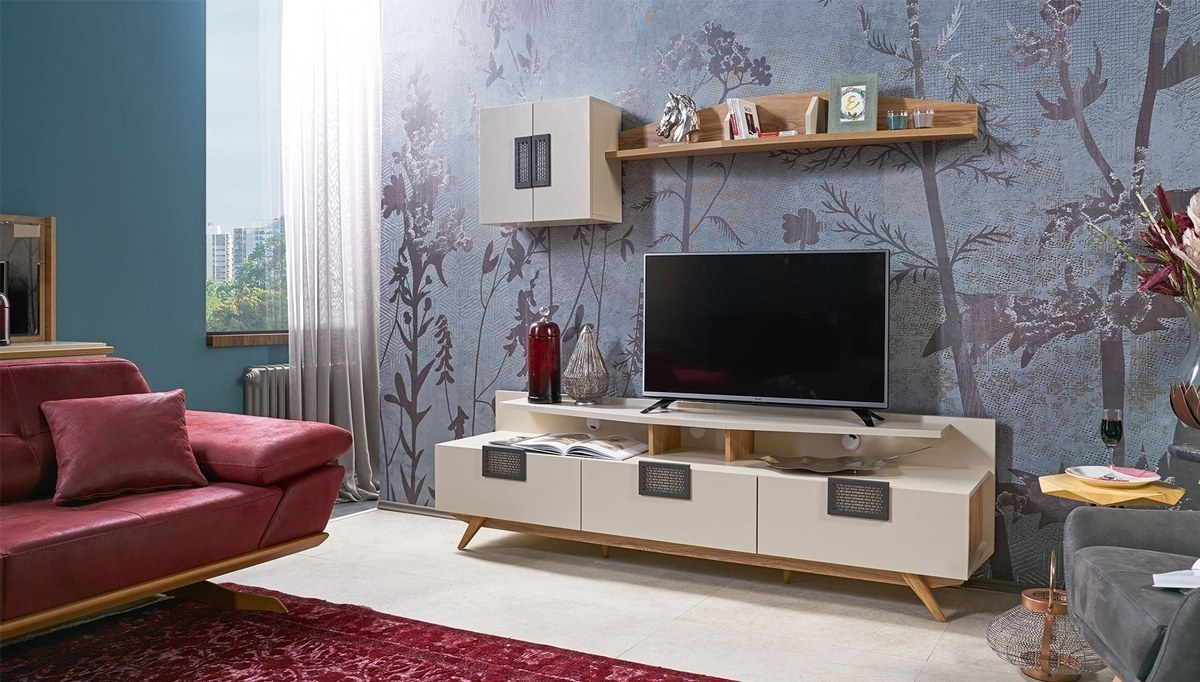 Lüks Azir Modern TV Ünitesi