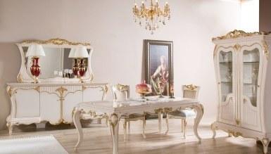 792 - Lüks Bağdat Gold Klasik Yemek Odası