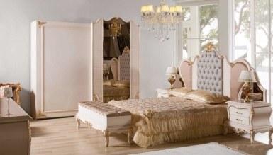 792 - Lüks Bağdat Klasik Yatak Odası