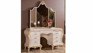 Lüks Bağdat Klasik Yatak Odası - Thumbnail