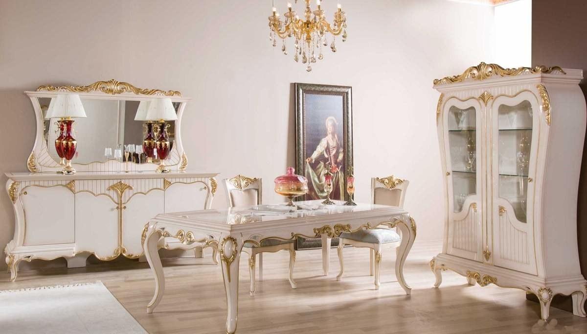 Lüks Bağdat Klasik Yemek Odası