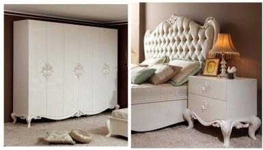 Lüks Baleras Klasik Yatak Odası - Thumbnail