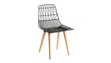 920 - Lüks Band Ahşap Ayaklı Sandalye
