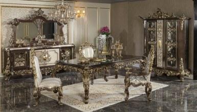 770 - Lüks Baroke Klasik Yemek Odası