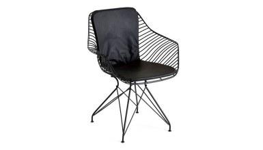 920 - Lüks Bed Metal Ayaklı Sandalye