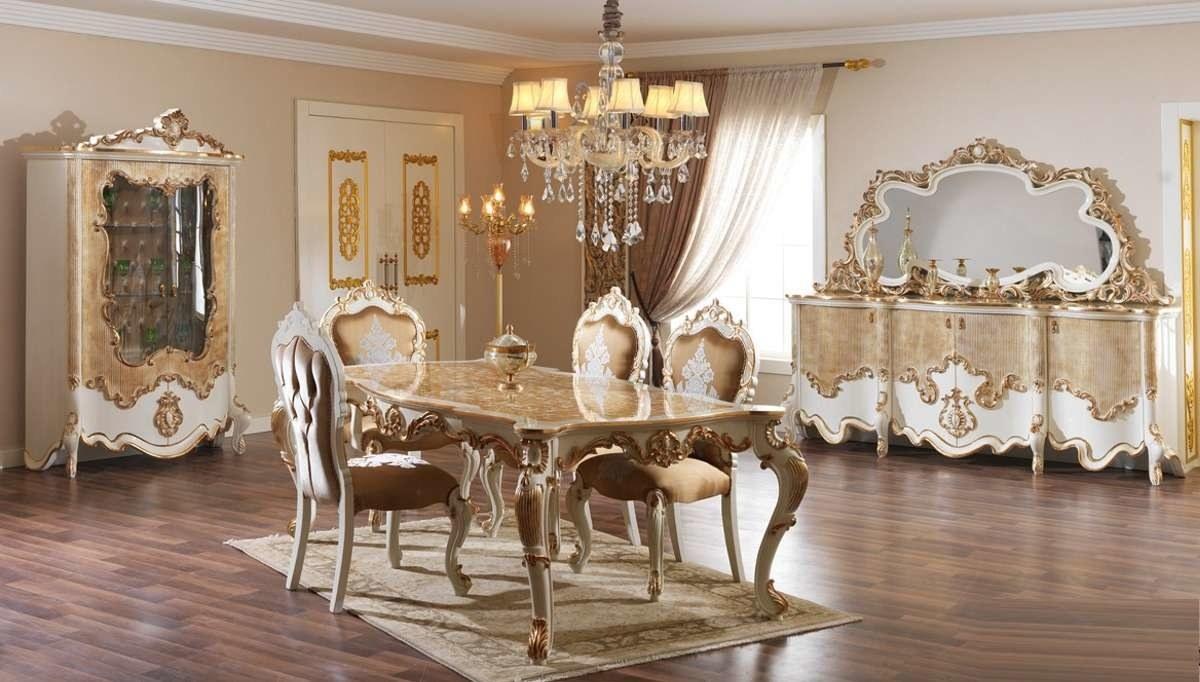 Lüks Bedesten Klasik Yemek Odası