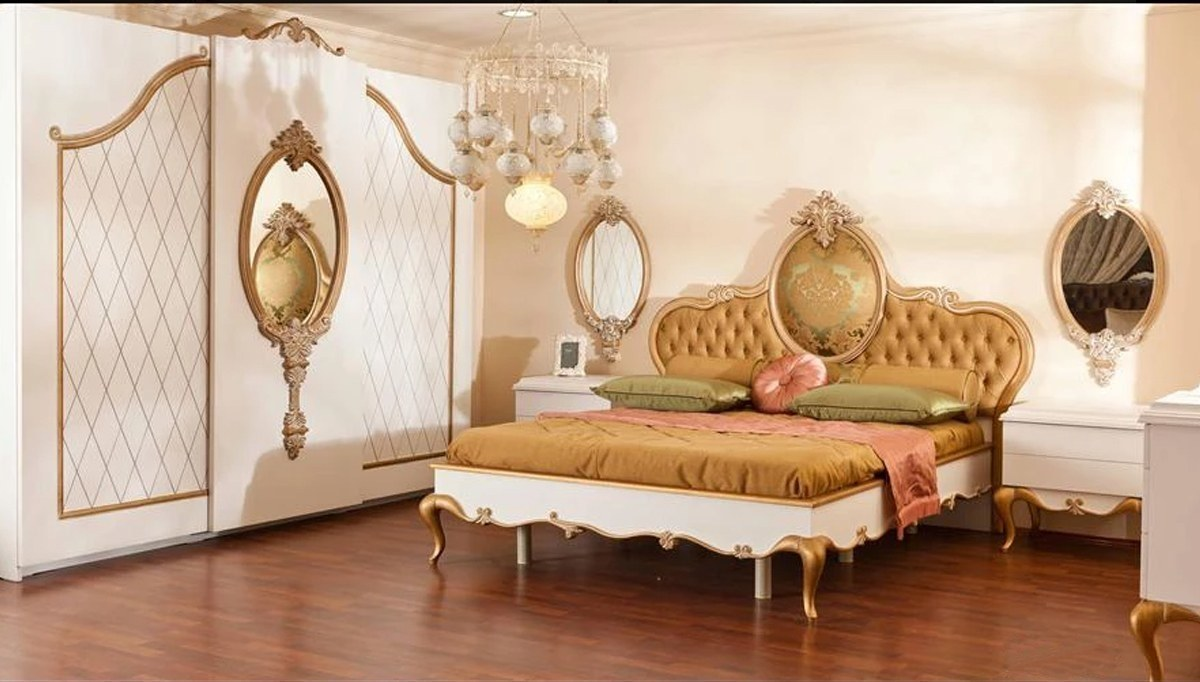 Lüks Begoni Klasik Yatak Odası