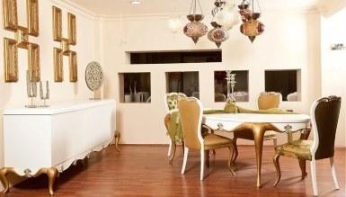 543 - Lüks Begoni Klasik Yemek Odası