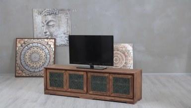 Lüks Benvor Camlı TV Ünitesi - Thumbnail