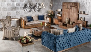 Lüks Berane Klasik غرفة الجلوس