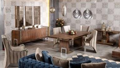 525 - Lüks Berane Klasik Yemek Odası
