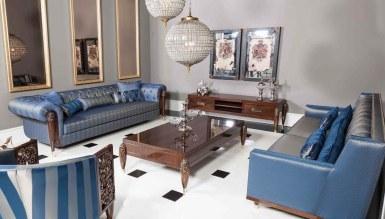 768 - Lüks Bernardo Art Deco Koltuk Takımı