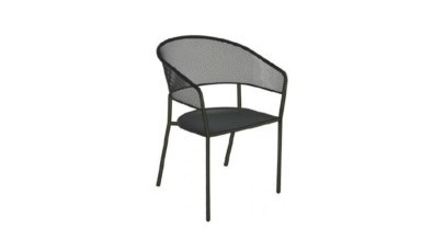 1009 - Lüks Borak Metal Ayaklı Sandalye