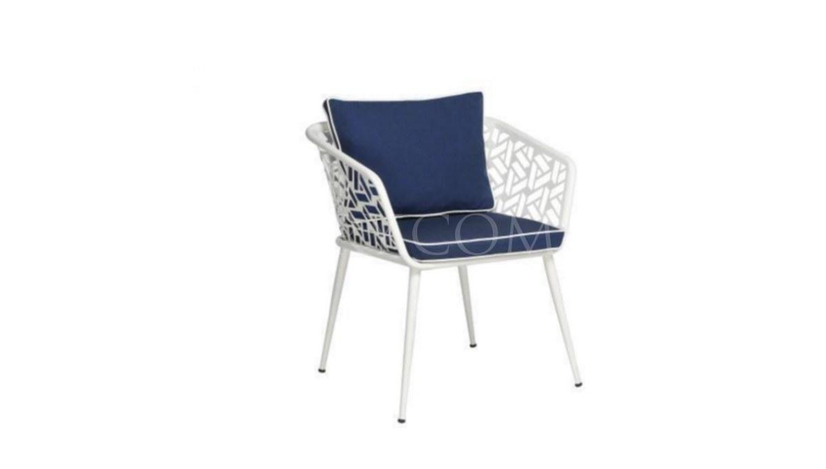 Lüks Bost Oval Metal Ayaklı Sandalye