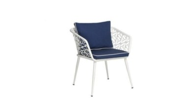 1009 - Lüks Bost Oval Metal Ayaklı Sandalye