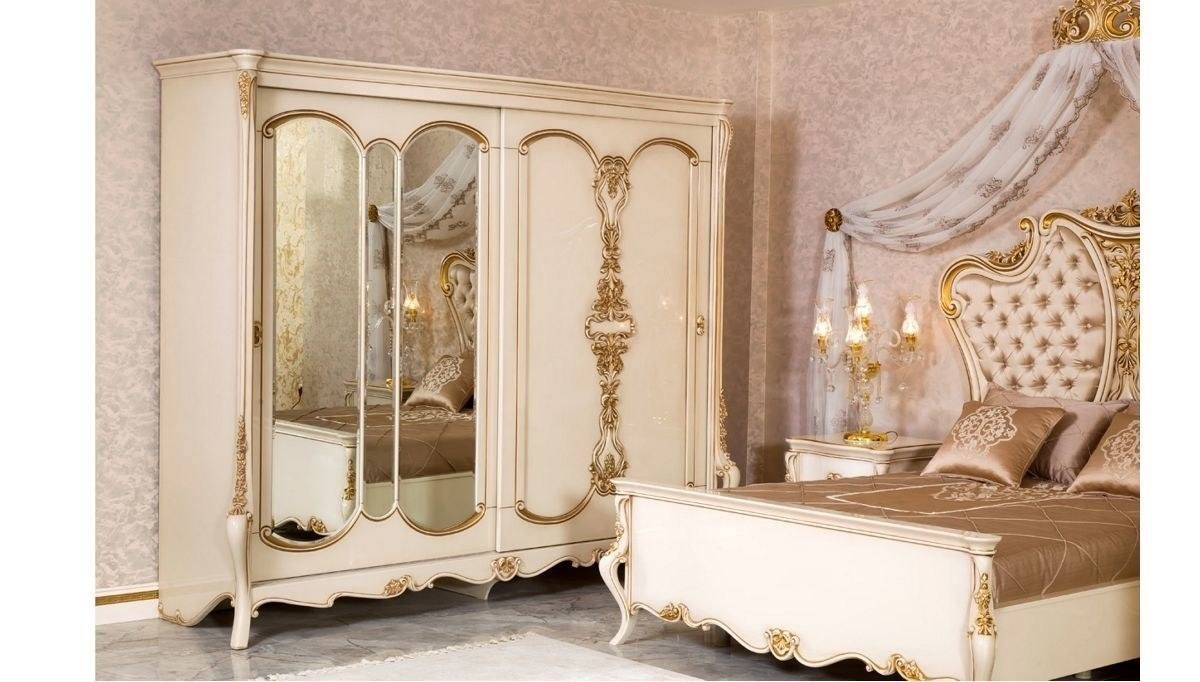 Lüks Bristol Klasik Yatak Odası