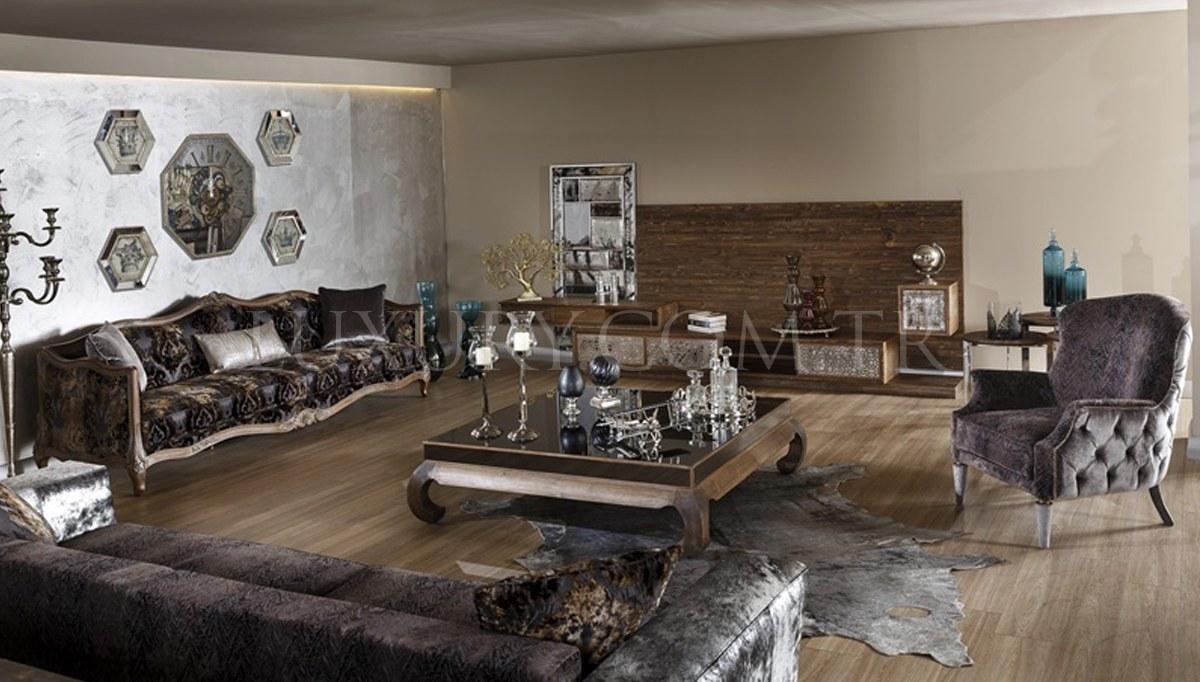 Lüks Bufena Klasik Yemek Odası