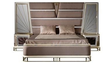 Lüks Bugatti Metal Yatak Odası - Thumbnail