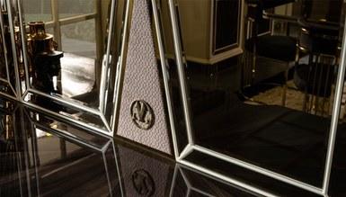 Lüks Bugatti Metal Yemek Odası - Thumbnail