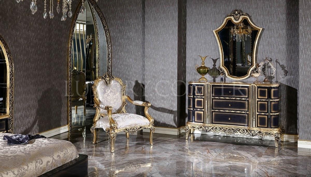 Lüks Bulgarya Klasik Yatak Odası