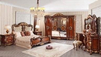 810 - Lüks Bungalov Klasik Yatak Odası