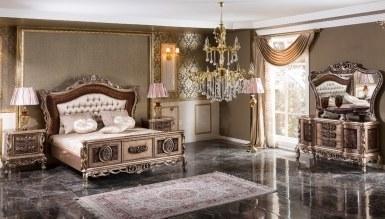 Lüks Buruciye Klasik Yatak Odası