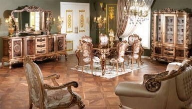 770 - Lüks Buruciye Klasik Yemek Odası