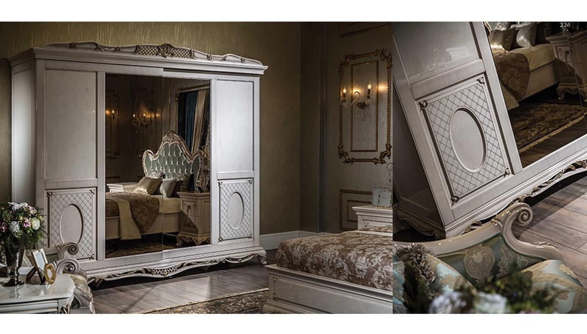 Lüks Buster Klasik Yatak Odası