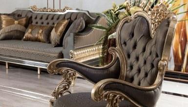 Lüks Calenas Art Deco Koltuk Takımı - Thumbnail