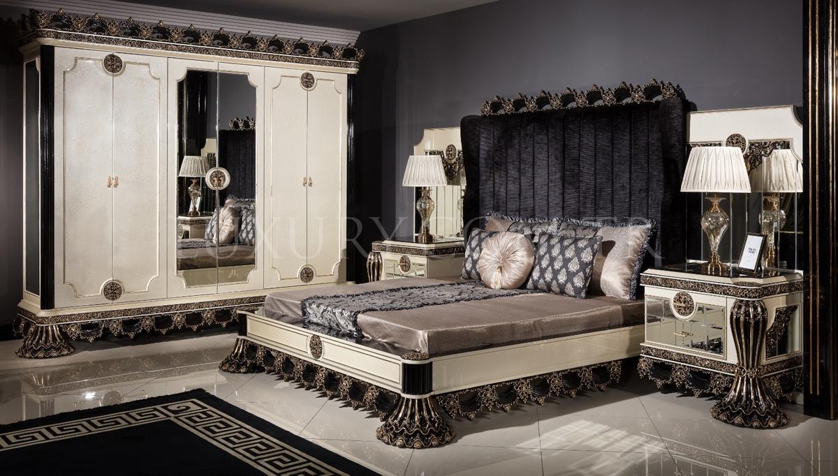 Lüks Cape Town Klasik Yatak Odası