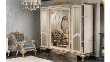 Lüks Cengizhan Klasik Yatak Odası - Thumbnail