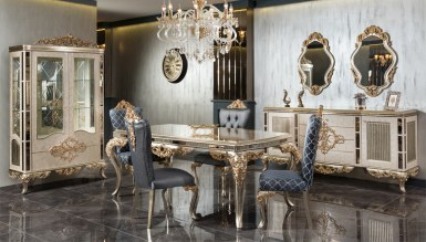 Lüks Cengizhan Klasik غرفة الطعام