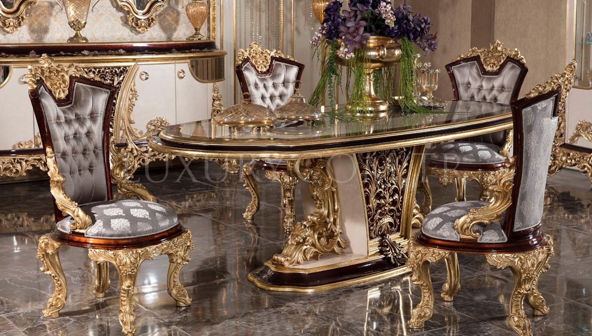 Lüks Cenova Klasik Yemek Odası