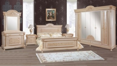 816 - Lüks Cihangir Klasik Yatak Odası