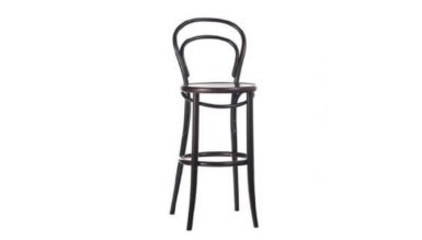 1009 - Lüks Cross Thonet Bar Sandalye