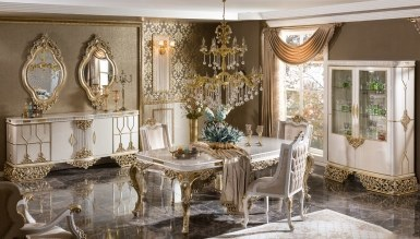 Lüks Darina Klasik Yemek Odası