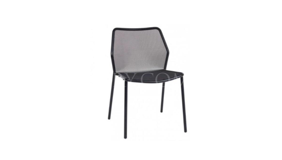 Lüks Demas Kolsuz Metal Ayaklı Sandalye