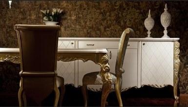 Lüks Devr-i Saray Klasik Yemek Odası - Thumbnail