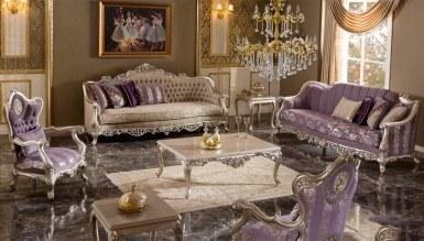 Lüks Diana Art Deco Ensemble Canapé