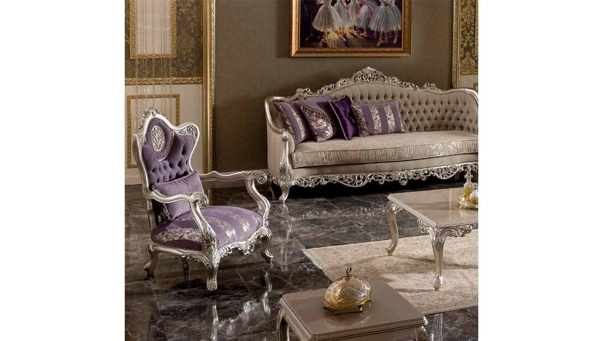Lüks Diana Art Deco Koltuk Takımı