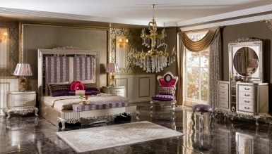 Lüks Diana Art Deco غرفة النوم