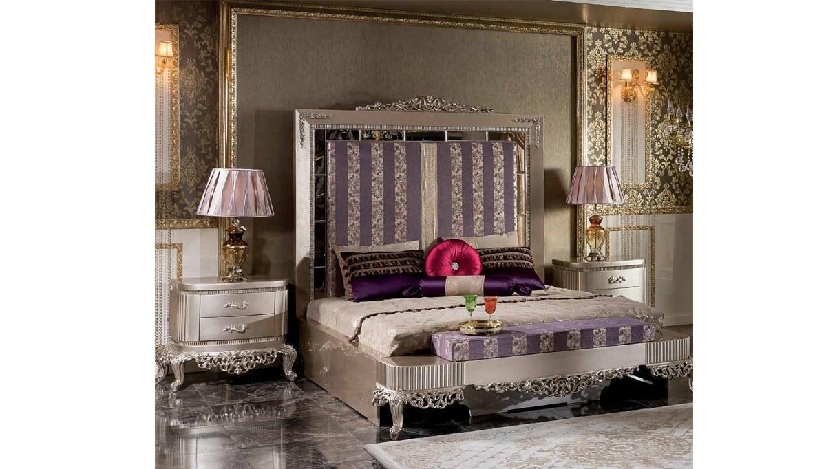 Lüks Diana Art Deco Yatak Odası