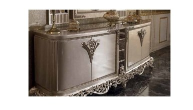 Lüks Diana Art Deco Yemek Odası - Thumbnail