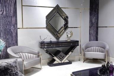 Lüks Diore Metal Koltuk Takımı - Thumbnail