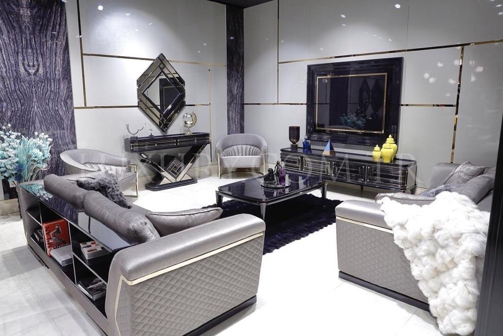 Lüks Diore Metal Koltuk Takımı