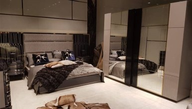 Lüks Diore Metal Yatak Odası - Thumbnail