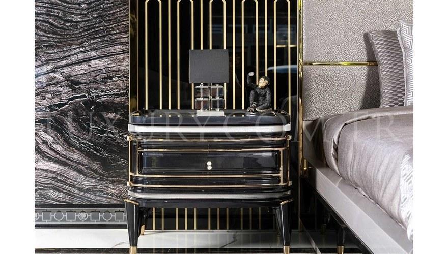 Lüks Diore Metal Yatak Odası