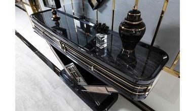 Lüks Diore Metal Yemek Odası - Thumbnail