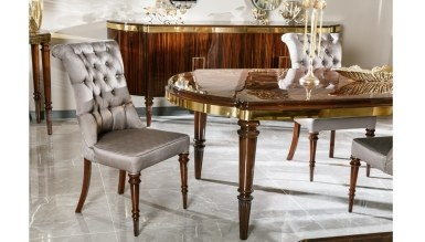 Lüks Diplote Luxury Yemek Odası - Thumbnail