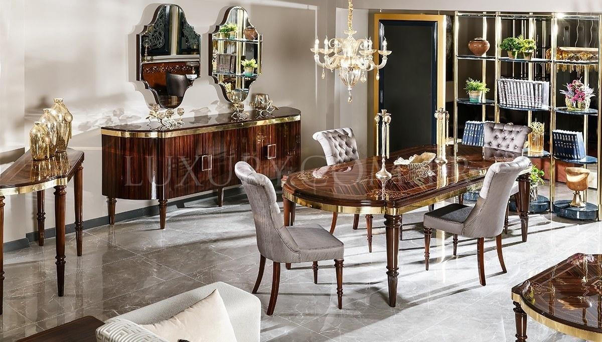 Lüks Diplote Luxury Yemek Odası